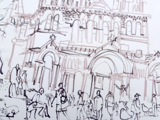detail of drawing