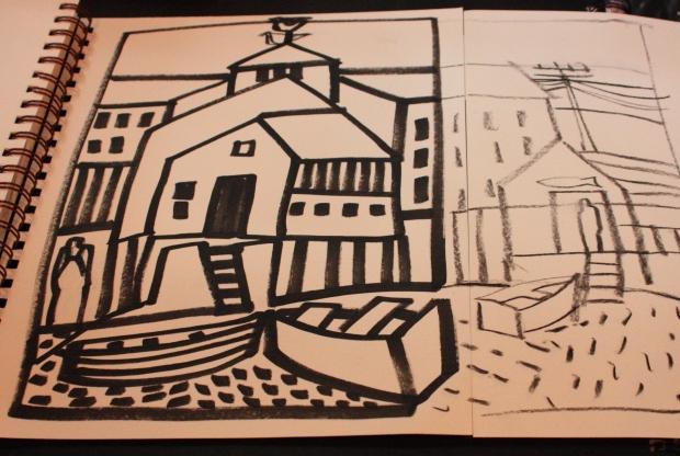 sketch for It Takes a Village