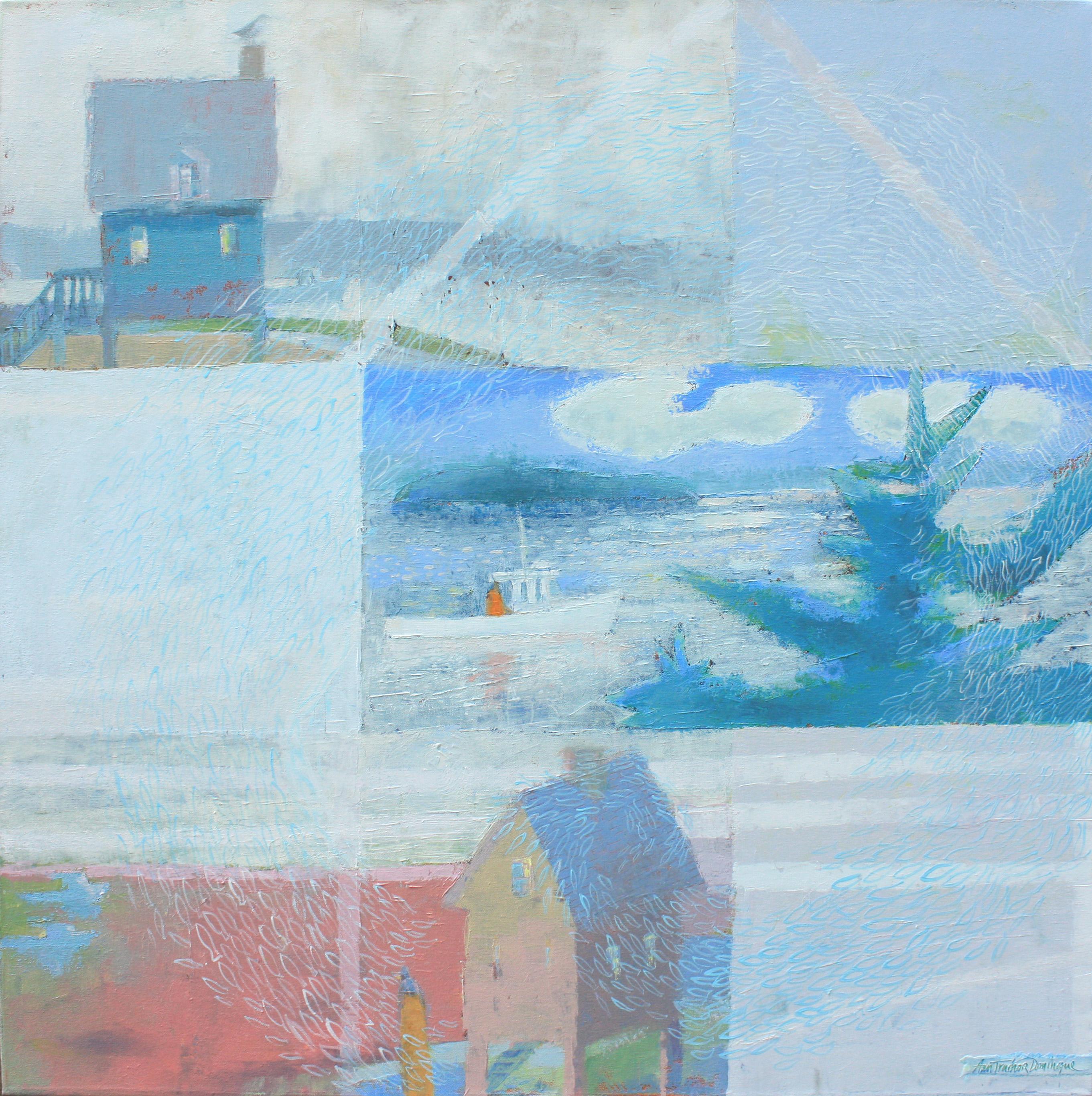 17701 Windows on Story Island acryl canv 36x36