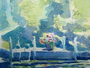 sketch winni deck w flower pot sm