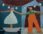 18904 Just Dance acryl panel 6x8 sm