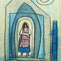 Babaking Daay, 4x3, watercolor